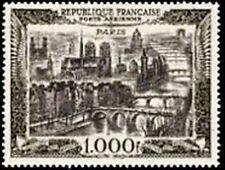 """FRANCE TIMBRE STAMP AVION N° 29 """" VUE DE PARIS 1000F """" NEUF X TB"""