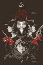 Martin Ansin El Topo RARE SOLD OUT Mondo Poster Print Like Taxi Driver Batman