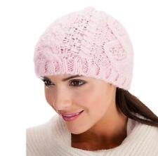 Chapeaux rose en acrylique pour femme