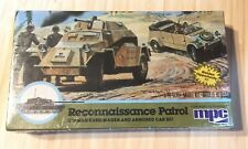 RECONNAISSANCE PATROL KUBELWAGENMPC 1 & ARMORED CAR SET  76  KIT 1983 New As Is