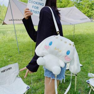 Cute Plush Doll Women Girls Backpack Messenger Bag Phone Shoulder Bag 32x26 cm