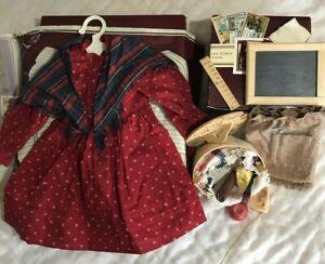 American Girl Doll Kirsten Larson School Set Accessories