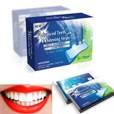 28 pcs 14 pair 3D White Gel Teeth Whitening Strips Oral Hygiene Dental Bleaching