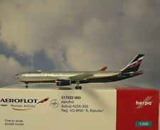 Herpa Wings 1:500  Airbus A330-300  Aeroflot VQ-BNS 517522-003  Modellairport500