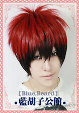 Kuroko's Basketb Kagami Taiga Straight Anime Cosplay Party Wig + hairnet