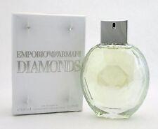 Emporio Armani Diamonds Eau de Parfum Spray 3.4 oz. Women New *Damaged Box