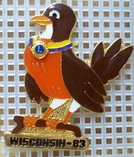 1983 Wisconsin Lions Club Pin