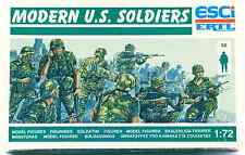 ESCI ERTL #239 - 1/72 scale Modern U.S. Soldiers - mint boxed set