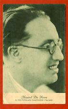 ITALIA MUSICA, MANOEL DE SERRA POPOLARE CANZONIERE, DA GENOVA 1933   m