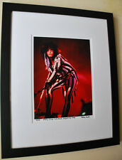 Motley Crue Nikki Sixx live fine art photo LA Forum 1985 signed number 13/100