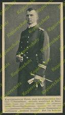 Kaiserliche Marine Kptlt Walter Remy U-Boot SM U 90 Erfolgsmeldung Atlantik 1918