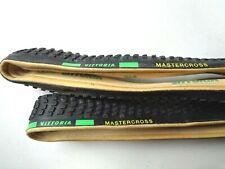 *NOS Vintage 1980s VITTORIA MASTERCROSS cyclo-cross 700c tubular tyres (pair)*