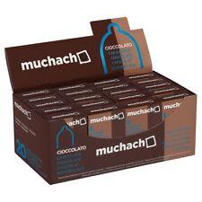 120 preservativi MUCHACHO CIOCCOLATO aromatizzati 20 scatole da 6 + Durex