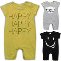 Newborn Baby Toddler Girl Boy Summer Romper Bodysuit Jumpsuit Clothes Outfits