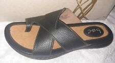 Born Concept BOC women's black  Slides  sandals  toe loop size 10 M
