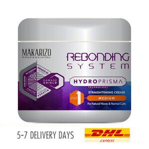 [MAKARIZO] Rebonding System HydroPrisma Straightening Hair Cream Medium 500g