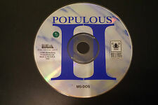 Populous II: Trials of the Olympian Gods (PC, 1993) *Tested