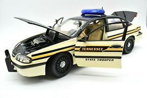 Model Car Chevrolet Impala Tennessee Police Scale 1/18 diecast vehicles