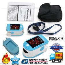 US LED Finger tip Pulse Oximeter oxymetre SpO2 PR Blood Oxygen Meter Monitor,FDA
