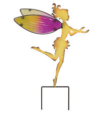 Fairy Garden Stake Lg -Yellow - Regal Art & Gift 10807