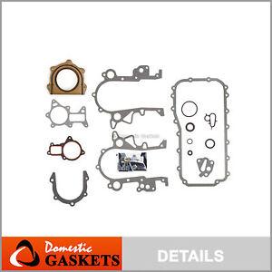 Lower Gasket Set Fits 07-08 Jeep Wrangler 3.8L OHV VIN 1