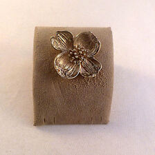 Tiffany & Co Sterling 925 Dogwood Brooch Pin-Mint Condition