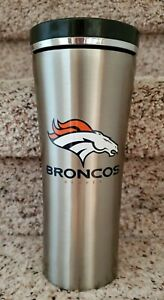 Denver Broncos Stainless Steel Double Wall Insulated Tumbler