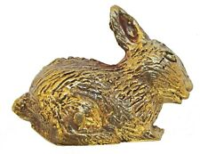 Figurine lapin en laiton statuette collection animaux
