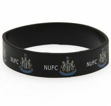 NEWCASTLE UNITED Silicone WRISTBAND Licensed Official NUFC Merchandise