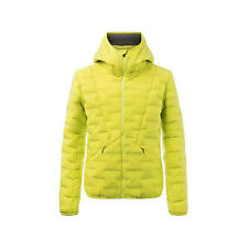 KJUS MENS FLAKE TEC HOODED JACKET CITRIC YELLOW size 48/S