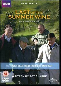 Last Of The Summer Wine - Series 27 & 28 (DVD) - Region 2