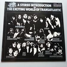 VA: Introduction to the Exciting World of Transatlantic Vinyl LP UK 1972 Poster