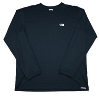The North Face Vaporwick, Long Sleeve, Crewneck, T Shirt, Black, Size Large