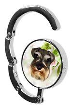 Schnauzer Dog Table Bag Handbag Purse Hanger Hook-1 by paws2print