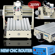 USB 3Axis 3020 CNC Router Engraver Milling Machine Engraving Drilling Desktop US