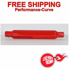 "Cherry Bomb Glasspack Muffler 2"" IN  OUT - 18"" Body - 87507CB"