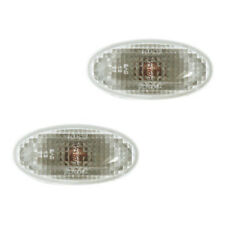 Fits Mazda 2 3 5 MPV Clear Side Repeater Turn Signal Light Lamp Assembly 1 Pair