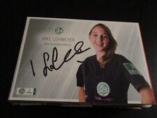 60562 I. Lohmeyer DFB Schiri Frauen Fußball original signierte Autogrammkarte