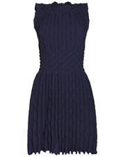 NTW $3150 Alaia Origami Dress Midnight Size 38