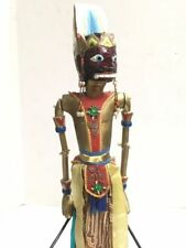 """Beautiful Vintage Handmade Wooden Chinese Hand Puppet 23"""" Tall Arms & Head Move"""