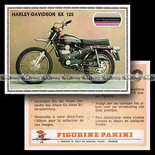#pnsm75.071 ★ HARLEY-DAVIDSON 125 SX ★ Panini Super Moto 75