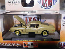 ^^L21 32600 37 M2 DETROIT MUSCLE  1968 Ford Mustang Fastback 2+2 200  1:64 CHASE