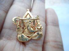 NOS, 22K Beautiful Yellow Asain Gold, Ganesh/Ganesha/Hindu God/Pendant/Jewelry