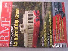**d RMF n°507 La gare d'Alp Grüm / Les CC 40100 de LS Models
