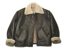 US Army B3 AIRFORCE Bomberjacke Lammfell Lederjacke Jacke Leather Jacket