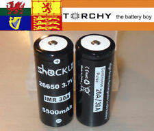 26650 Battery 4.2 V Rechargeable Batteries