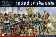 Landsknechts con zweihanders Warlord Games Pike & Shotte 28 Mm Sd