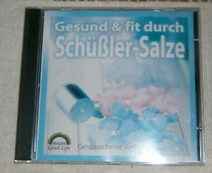 CD Gesund & Fit durch Schüßler-Salze-Gesprochene Anleitung,Weltbild  gebraucht