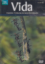 DVD - Vida NEW Insectos Criaturas De Las Profundidades Vol. 4 FAST SHIPPING !