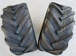 2 - 23X10.50-12 Deestone D405 6P Super Lug Tires AG 23x10.5-12 Tractor Traction
